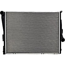 Aluminum Core Plastic Tank Radiator, 22.81 in. L x 17.5 in. W x 1.25 in. Thickness Core Size