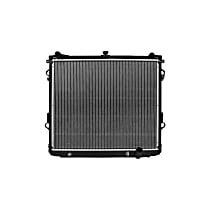 Aluminum Core Plastic Tank Radiator, 23.25 in. H x 27.5 in. W x 2 .063 in. D Core Size