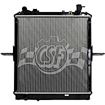 Aluminum Core Plastic Tank Radiator, 24.44 in. H x 23.13 in. W x 1.25 in. Thickness Core Size