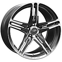 Powdercoated Chrome Wheel - 20 in. Wheel Diameter X 11 in. Wheel Width