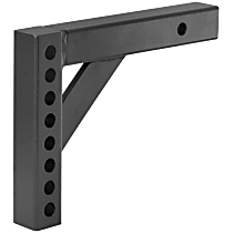 17120 Hitch Ball Mount - Powdercoated Black, Steel, Universal, Sold individually