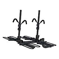 18087 Bike Rack - Powdercoated Black, Hitch mount, Universal, Sold individually