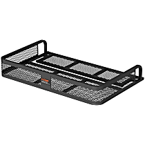 18101 Cargo Carrier - Powdercoated Black, Steel, Cargo, Universal, Sold individually