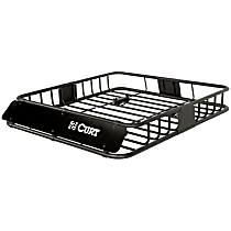 Curt 18115 Cargo Basket - Powdercoated Black, Steel, Universal, Sold individually