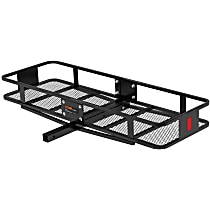 18150 Cargo Carrier - Powdercoated Black, Steel, Basket, Hitch, Universal, Sold individually