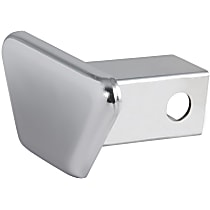 21901 Hitch Cover - Chrome, Steel, Sold individually