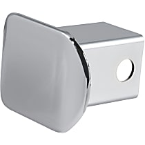 Hitch Cover - Chrome, Plastic, Sold individually