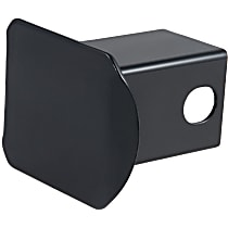 22750 Hitch Cover - Powdercoated Black, Steel, Sold individually