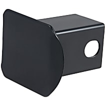 Hitch Cover - Powdercoated Black, Steel, Sold individually