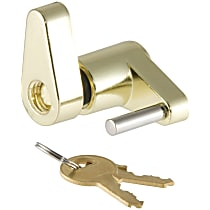 Curt 23022 Hitch Lock - Brass, Stainless Steel