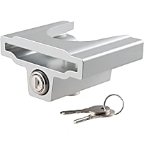 Curt 23079 Hitch Lock - Powdercoated Gray, Aluminum