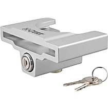 Curt 23081 Hitch Lock - Powdercoated Gray, Aluminum
