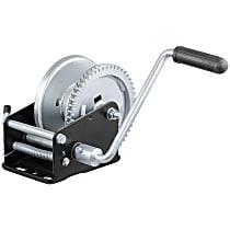 Curt 29427 Winch - Hand Crank, 1700 lbs., Universal