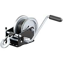 Curt 29438 Winch - Hand Crank, 1900 lbs., Universal