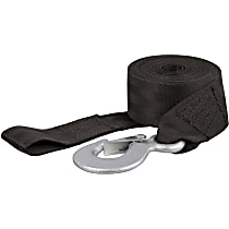 29450 Tow Strap - Black, Nylon, Universal, Sold individually