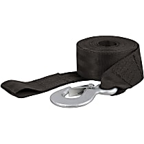 Tow Strap - Black, Nylon, Universal, Sold individually