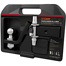 45554 Towing Starter Kit - Powdercoated Black, Steel, Sold individually
