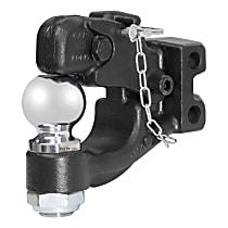 45919 Pintle Hook - Powdercoated Black, Universal, Kit