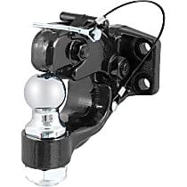 48180 Pintle Hook - Powdercoated Black, Universal, Kit