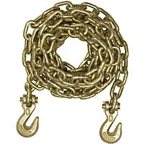 Curt 80306 Tow Chain - Yellow zinc