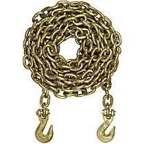 Curt 80307 Tow Chain - Yellow zinc