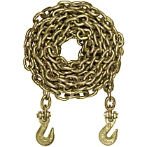 Curt 80308 Tow Chain - Yellow zinc