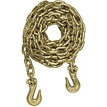 Curt 80309 Tow Chain - Yellow zinc