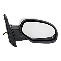 Mirror - Passenger Side, Power, Heated, Folding, Chrome, Models With Off Road Package
