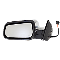 Mirror - Driver Side, Power, Heated, Chrome, With Memory, For Models With RPO-DL9 Mirror