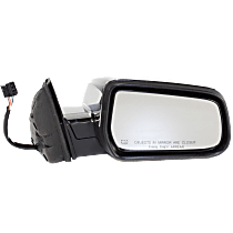 Mirror - Passenger Side, Power, Heated, Chrome, With Memory, For Models With RPO-DL9 Mirror