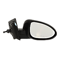 Mirror Non-Heated - Passenger Side, Manual Remote Glass, Paintable