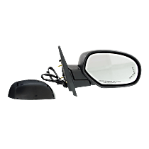 Mirror - Passenger Side, Power, Heated, Power Folding, With Paintable and Textured Black Caps, Turn Signal, Memory & Puddle Lamp