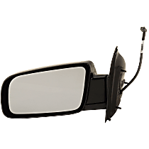 Mirror - Driver Side, Power Glass, Paintable