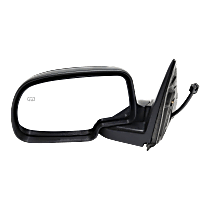Mirror - Driver Side, Power, Heated, Folding, Paintable With Puddle Lamp