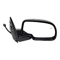 Mirror - Passenger Side, Power, Heated, Folding, Paintable With Puddle Lamp