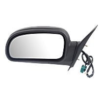 Mirror - Driver Side, Power, Heated, Folding, Textured Black, 1st Design