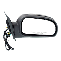 Mirror - Passenger Side, Power, Heated, Folding, Textured Black, 1st Design