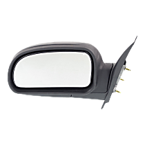 Mirror - Driver Side, Folding, Textured Black, 2005 to 2009 Style
