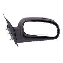 Mirror - Passenger Side, Folding, Textured Black, 2005 to 2009 Style