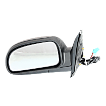 Mirror Power Folding Heated - Driver Side, Power Glass, Textured Black
