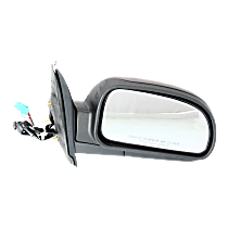 Mirror Power Folding Heated - Passenger Side, Power Glass, Textured Black