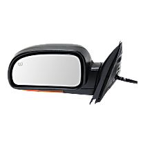 Mirror - Driver Side, Power, Heated, Folding, Paintable, With Turn Signal (Amber), Memory