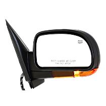 Mirror - Passenger Side, Power, Heated, Folding, Paintable, With Turn Signal (Amber), Memory