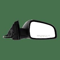 Mirror - Passenger Side, Power, Textured Black, 2008-2012 Style