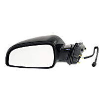 Mirror Manual Folding Non-Heated - Driver Side, Paintable