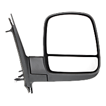 Mirror Heated - Passenger Side, Power Glass, With Blind Spot Corner Glass, Textured Black