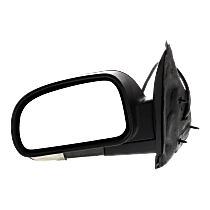 Mirror - Driver Side, Power, Heated, Power Folding, Textured Black, Clear Turn Signal