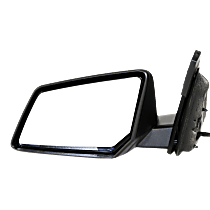 Mirror - Driver Side, Power, Folding, Textured Black
