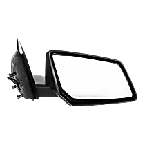 Mirror Manual Folding Non-Heated - Passenger Side, Textured Black