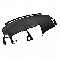 ABS Plastic Dash Cover - Black